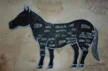 Fancy a cheval burger? Image Source: The Times